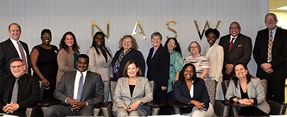 NASW board of directors' picture